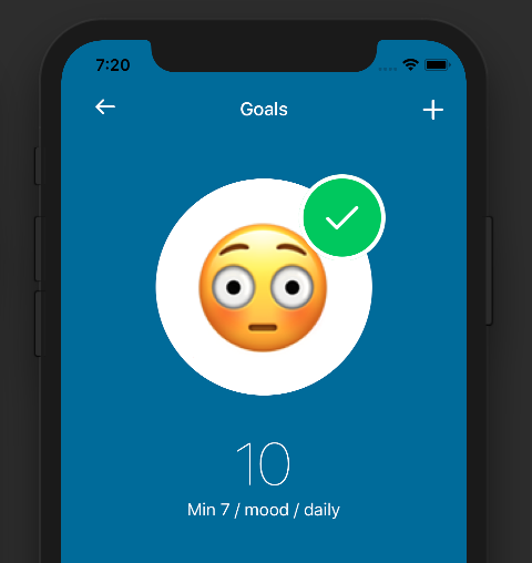 Life tracking with Goals and Nomie